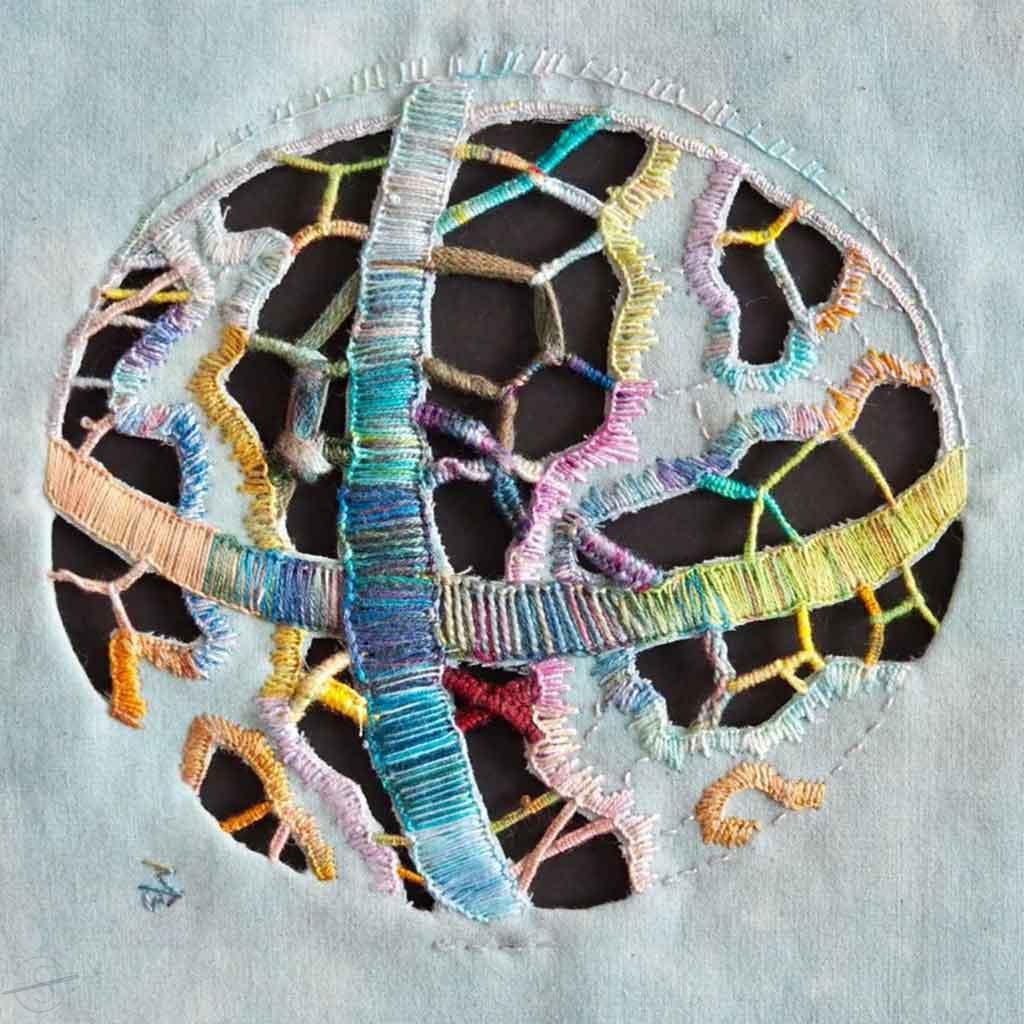 Master Needle Artisan Fernkurs Sampler-Ricelieu-MonikaB